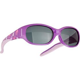 Alpina Flexxy Glasses Kids pearl blue/anthracite/black mirror